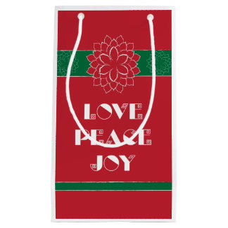 愛、平和、喜びII スモールペーパーバッグ