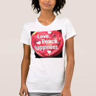 愛。 平和。 幸福 Tシャツ