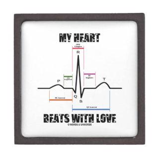 愛(心電図ECG)の私の心拍 ギフトボックス