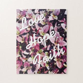 愛-愛のため、希望、信頼のパズル ジグソーパズル