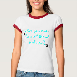 愛>油 Tシャツ