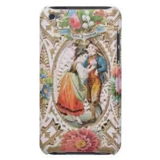 愛、潔白、バレンタインカード、c.1870 (色のリチウム Case-Mate iPod touch ケース
