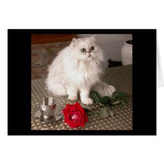 愛 猫 II カード - カスタマイズ可能 グリーティング・カード