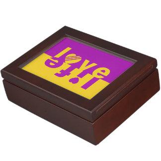 愛/生命カスタムな記念品箱 ジュエリーボックス