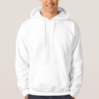 愛-白いフード付きスウェットシャツの名でそれをして下さい パーカ