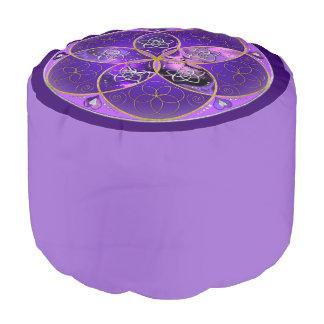 愛-芸術-の金星の花すみれ色のピンク プーフ