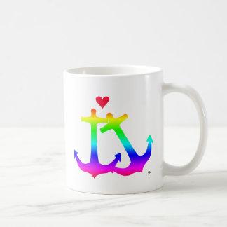 愛(虹)のいかり コーヒーマグカップ