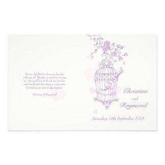 愛|鳥|紫色|ピンク|結婚|プログラム