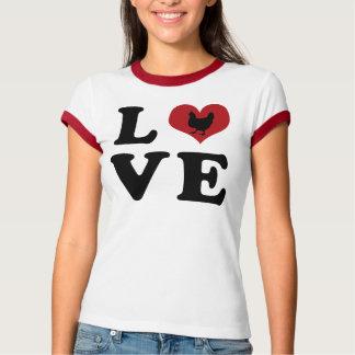 愛-鶏 Tシャツ