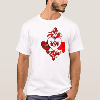 愛Ambigramのワイシャツ Tシャツ