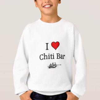 愛Chitiのバー スウェットシャツ