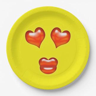 愛Emoji ペーパープレート