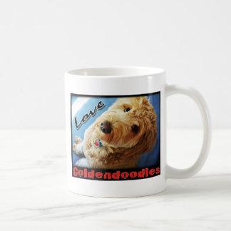 愛Goldendoodles コーヒーマグカップ