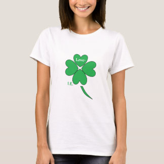 愛ie shamrock.jpg tシャツ