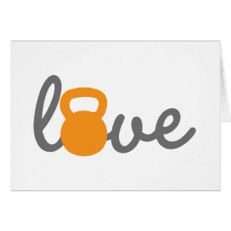 愛Kettlebellのオレンジ カード