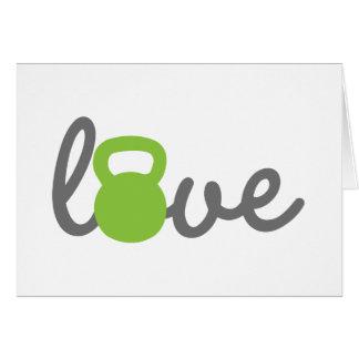 愛Kettlebellの緑 カード