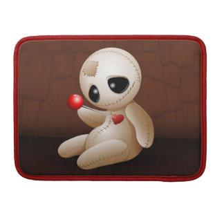 愛Macbookの袖のブードゥーの人形の漫画 MacBook Proスリーブ