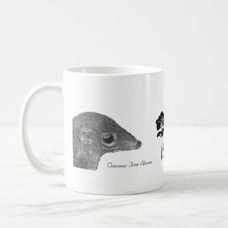 愛MacRitchie -共通のツパイ目 コーヒーマグカップ