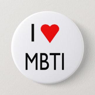 愛MBTI 7.6CM 丸型バッジ
