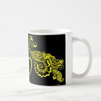 愛mehndi コーヒーマグカップ