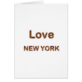 愛NewYorkニューヨーク カード