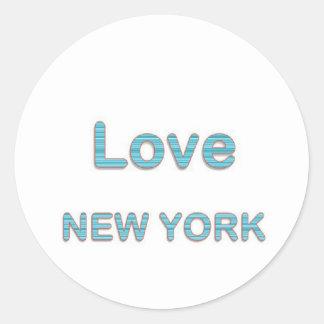 愛NewYorkニューヨーク ラウンドシール