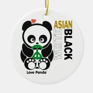 愛Panda®のオーナメント セラミックオーナメント