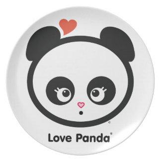 愛Panda®のプレート プレート