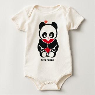 愛Panda®の服装 ベビーボディスーツ