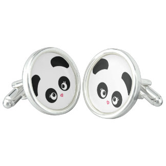 愛Panda® カフブローチ
