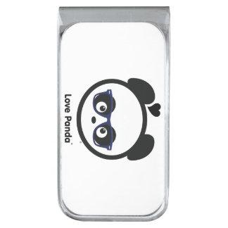 愛Panda® シルバー マネークリップ