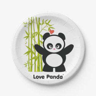 愛Panda® ペーパープレート