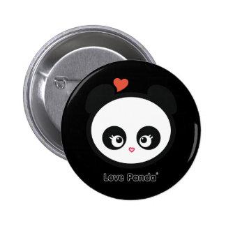 愛Panda®ボタン 5.7cm 丸型バッジ