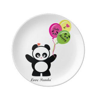 愛Panda® 磁器プレート
