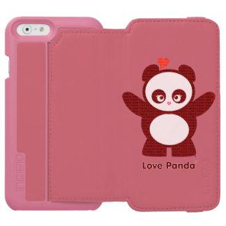 愛Panda® Incipio Watson™ iPhone 6 財布ケース