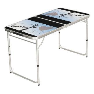 愛SILOUETTEのテールゲートのサイズのPongのテーブル力 ビアポンテーブル