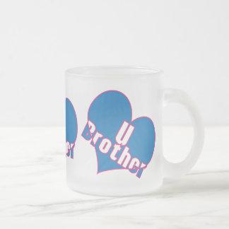 愛u兄弟 フロストグラスマグカップ
