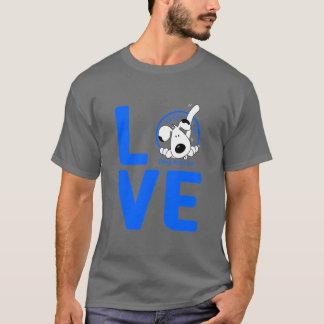 愛Wagginの尾 Tシャツ