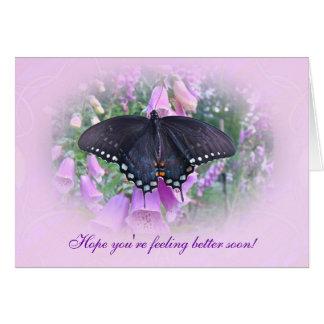 感じのよりよいSpicebushのアゲハチョウの蝶 カード
