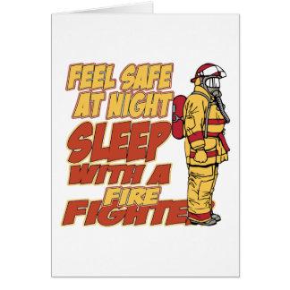 感じの金庫、消防士との睡眠 カード