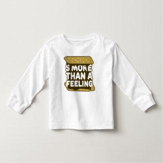 感じよりS'more トドラーTシャツ