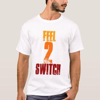 感じ、2のスイッチ Tシャツ