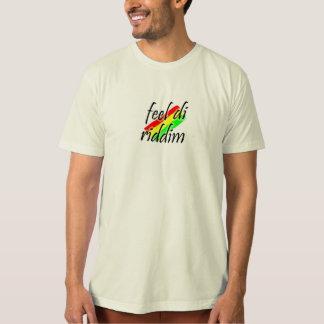 感じdi riddim tシャツ