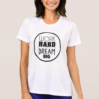 感動的でやる気を起こさせるな引用文のTシャツ Tシャツ