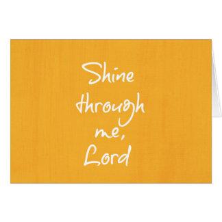 感動的なキリスト教の引用文の断言の祈りの言葉 カード