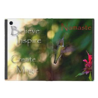 感動的なナマステのハチドリの写真 iPad MINI ケース