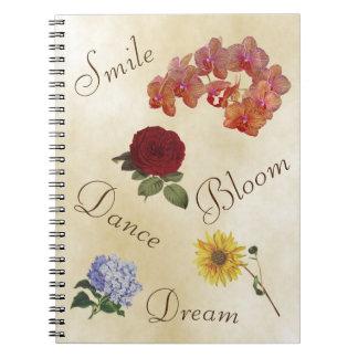 感動的なノート-上がって下さい ノートブック