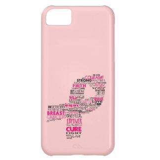 感動的な乳癌の認識度のリボン iPhone5Cケース