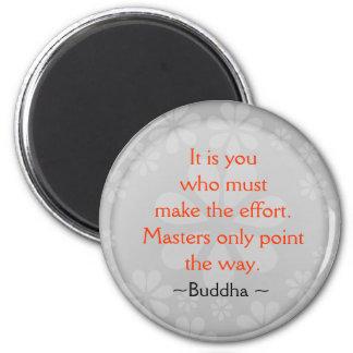 感動的な仏の引用文の磁石 マグネット
