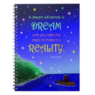 感動的な夢の引用文のノート(80ページ) ノートブック